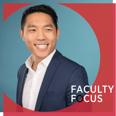 Desmond Ang faculty focus image.
